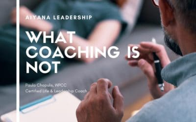 What Coaching IS NOT
